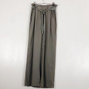 Thread & Supply Green Paperbag Pants Sz M
